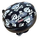 Kiddimoto Glocke Design Klingel / Fahrradklingel zubehör Fahrrad, Roller, Kinderroller Kinderfahrrad & Laufrad - Skullz (Small)