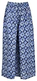 #6: Jaipur Classic Women's Cotton Palazzo (Blue, Large)