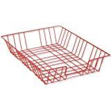 Hago A4 Folio Wire/Plastic Large Tray - Red
