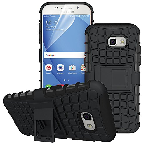 ZOKNEY Samsung Galaxy A5 2017 Back Cover ShockProof Heavy Duty Hard Stylish Dual Layer Protection Cover With Stand Feature  available at amazon for Rs.175