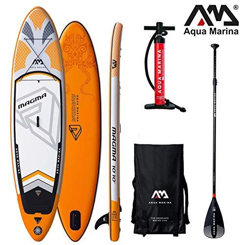 Aqua Marina Magma 2019 Sup Tavola Gonfiabile Alzarsi da Tavola da Surf Paddle Pinna