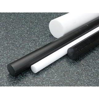 Rundstab aus PE-HD schwarz Ø 30 mm, Lang 1000 mm Kunststoffrundstab alt-intech®