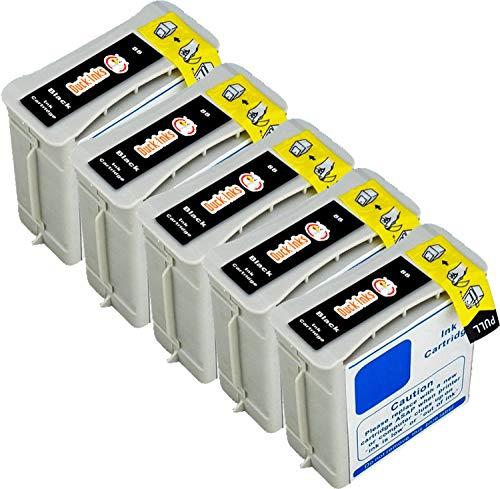 5 x Duck Inks Cartuchos de Tinta para HP 88 OfficeJet Pro K5400 OfficeJet Pro L7780 OfficeJet Pro K8600 OfficeJet K5400 OfficeJet Pro L7600 OfficeJet Pro K550 OfficeJet Pro L7590 L7480