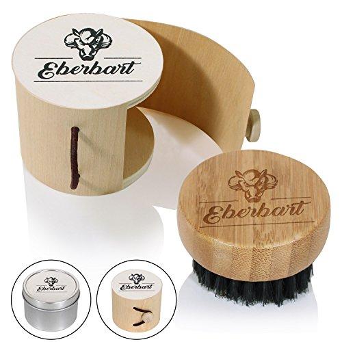 Eberhart Reise-Bartbürste mit Wildschweinborsten