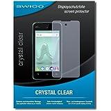 "2 x SWIDO protecteur d'écran Wiko Sunny film protecteur feuille ""CrystalClear"" invisible"