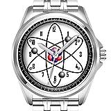 Personalisierte Herrenuhr Mode wasserdicht Uhr Armbanduhr Diamant 134.Atom (Replika)