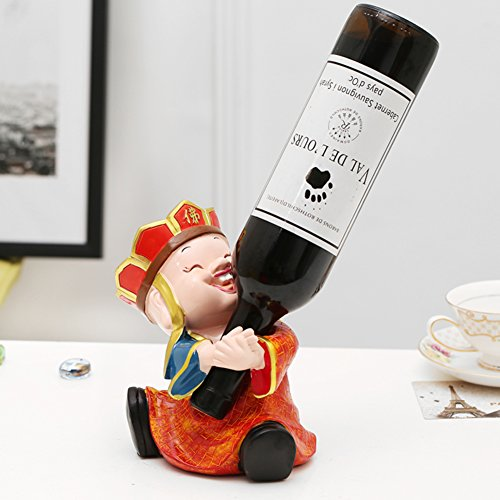 Flaschen wine rack,Chinese legende geschichte wein inhaber kreativ stark und dekorativ wein standing...