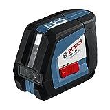 Bosch 0601063104 GLL 2-50 Professional Kreuzlinien-Laser in Schutztasche mit Ausrichtscheibe