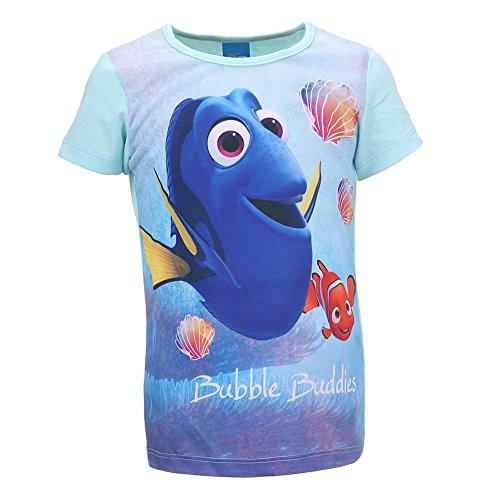 Nemo Tshirt (Disney Mädchen Shirt Findet Dorie Nemo 2 74610 (98, Blau))