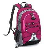 GiveKoiu-Bags Cool Rucksäcke für Mädchen für Schule Verkauf Billig Kinder Jungen Mädchen Wasserdicht Outdoor Rucksack aus Segeltuch Tasche Trekking, Herren, 2019721, Hot Pink, Free Size