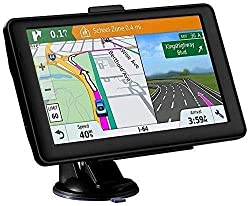 Sat Nav GPS Navigation System, NAVRUF 7 Inch 8GB 256MB Car Truck Lorry Capacitive Touch Screen Satellite Navigator Device Pre-loaded UK and EU 2019 Maps with Lifetime Free Updates