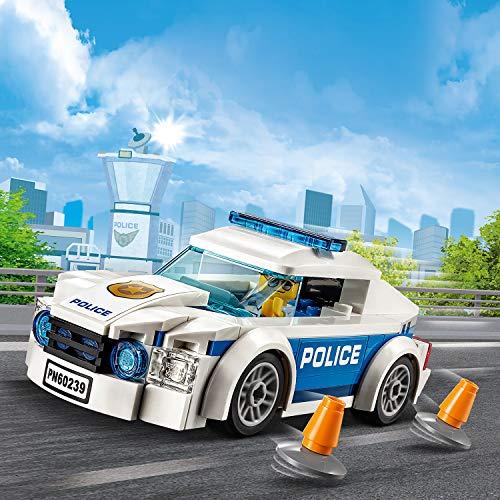 LEGO City - La voiture de patrouille de la police - 60239 - Jeu de...