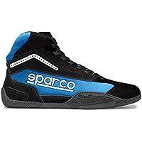 Sparco 00125941NRCE Botines para Karting, Negro/Azul, 41