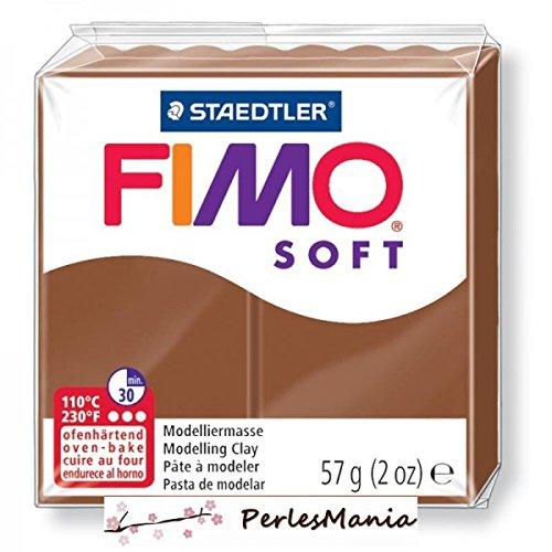 Panetto di pasta modellante ai polimeri 'Fimo Soft' (rif. 8020-7), 56 g, colore: Caramello
