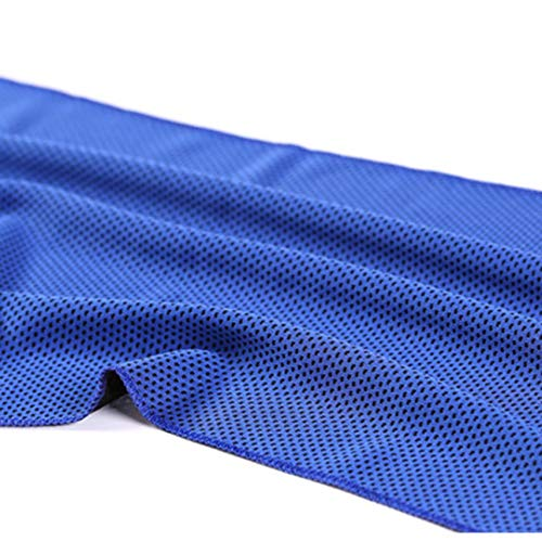 HibiscusElla Sports Gym Jogging Towel Enduring Running Instant Ice Cold Chilly Pad Cooling Towel (Chilly Pad Cooling Handtuch)