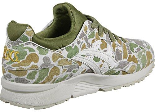 Asics Tiger Gel Lyte V W Schuhe grau beige oliv