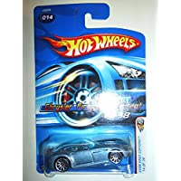 Mattel Hot Wheels 2006 First Editions 1:64 Scale Blue Chrysler Firepower Concept Die Cast Car #014 by Hot Wheels