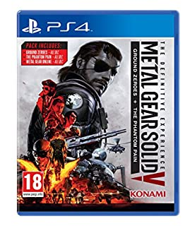 Metal Gear Solid V: The Definitive Experience (PS4) (B01LB1G208) | Amazon Products