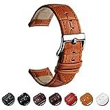 Uhrenarmband Echtes Leder Uhrband 16mm 18mm 20mm 22mm Watch Armband