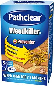 Pathclear Weedkiller + Preventer 6 Sachets Granular Concentrate