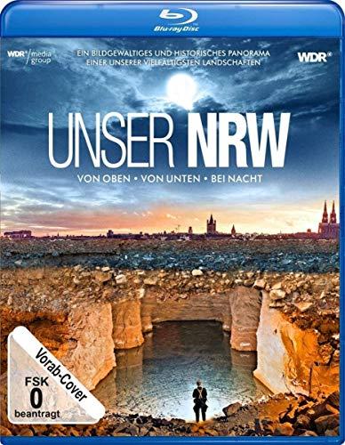 Unser NRW (NRW von oben, von unten und bei Nacht) [Blu-ray]