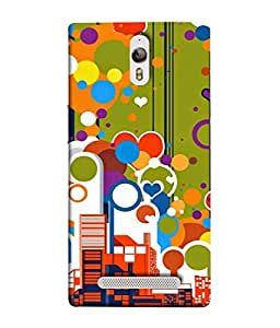 PrintVisa Designer Back Case Cover for Oppo Find 7 :: Oppo Find 7 QHD :: Oppo Find 7a :: Oppo Find 7 FullHD :: Oppo Find 7 FHD (Abstract Texture Fashion Backdrop Illustration Thin)