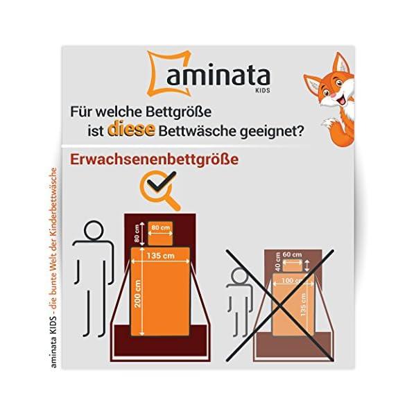 Aminata Bettwäsche Katze 135x200 Cm Baumwolle Reißverschluss