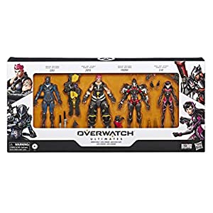 Overwatch - Ultimates Carbon Fiber Set (Hasbro E6390EU4)