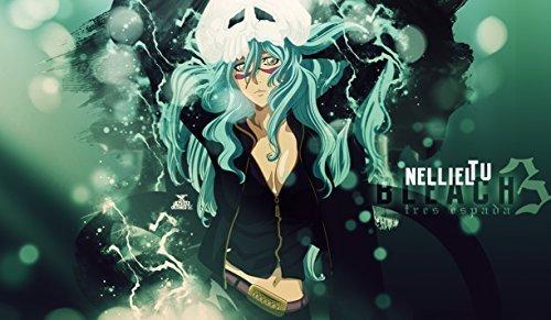 Bleach Nelliel Tu PLAYMAT CUSTOM PLAY MAT ANIME PLAYMAT #123 by MT