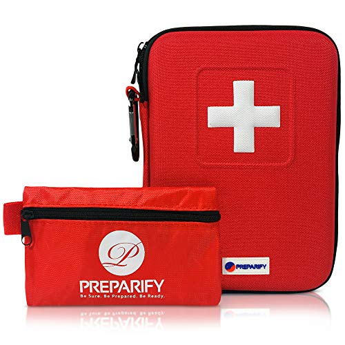 Kit Pronto Soccorso da Casa di Preparify | 2-in-1...