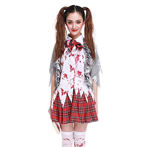 shoperama Damen-Kostüm - Sexy Zombie Schulmädchen, ()