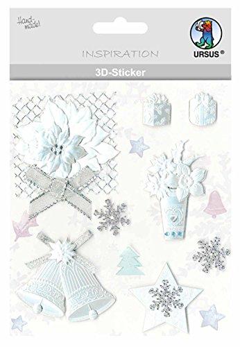 Ursus 3D Stickers Navidad