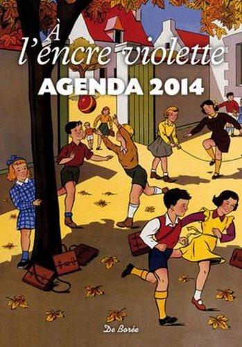 Encre violette agenda 2014