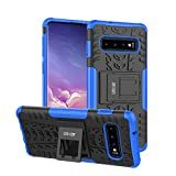Olixar Coque Samsung Galaxy S10 ArmourDillo Ultra Robuste - Coque Indestructible - Armure protectrice Résistante - Bleue