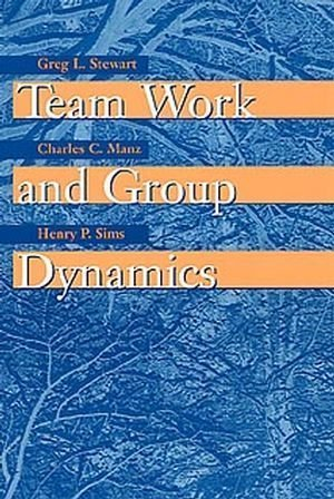 Team Work and Group Dynamics by Greg L. Stewart (1998-10-19)