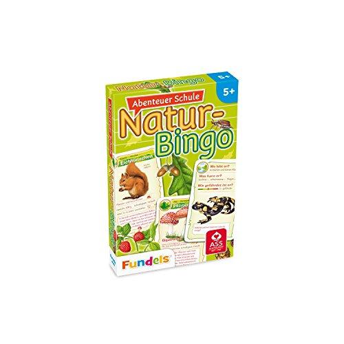 2843 - Abenteuer Schule - Natur-Bingo, Kartenspiel (Tier-bingo)
