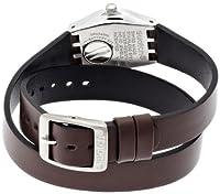 Swatch YSS284 - Reloj, Correa de Cuero Color marrón de Swatch