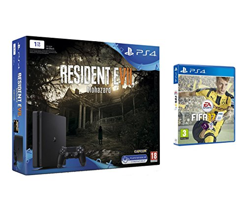 Pack PS4 1 To + Resident Evil 7 + FIFA 17