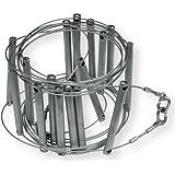 GODET (escala spéléo en cable galvanizado diámetro 2, 8mm, anchura interior 125mm, peldaños espacés de 300mm.
