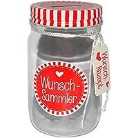 Preisvergleich für alles-meine.de GmbH Spardose - Wunsch-Sammler - Stabile Sparbüchse / ALS Einweckglas - Wunschs..