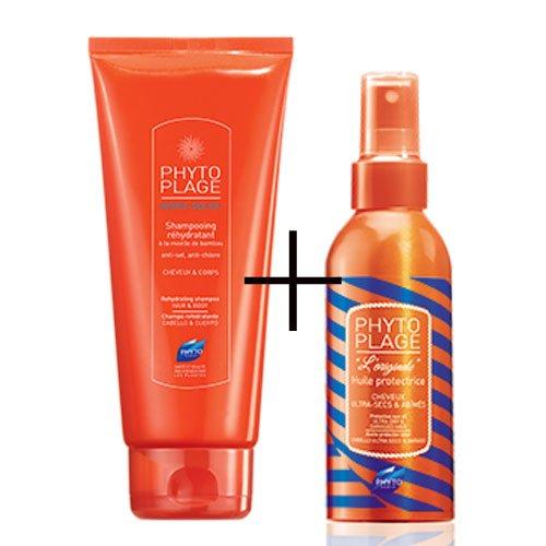 PhytoPlage olio protettivo capelli + shampoo gel doccia promo