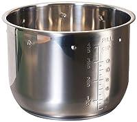 Elite Platinum EPSS-607 Maxi-Matic 6 Quart Inner Pot, Stainless Steel