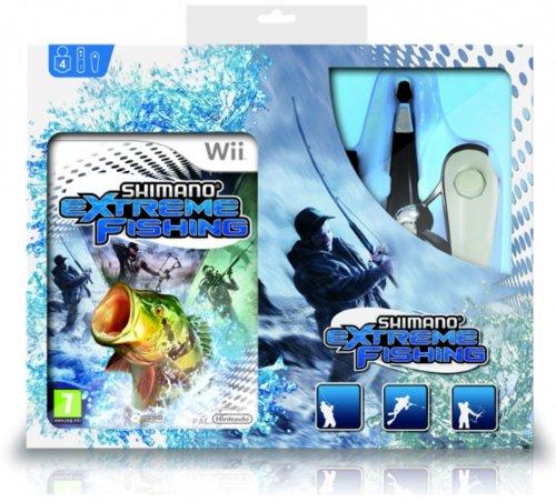 shimano-extreme-fishing-wii-nintendo-with-rod