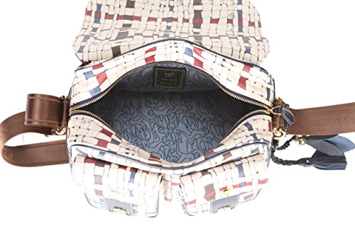 Borsa a tracolla PIERO GUIDI Intreccio Art Donna - 317N61529 Old England