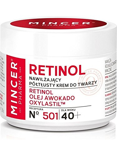 Mincer pharmaceutique Retinol 501 Crème hydratante 40 + 50 ml Retinol d'Avocat oxyl astiltm