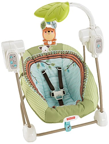Fisher-Price modelo BBD08 Hamaca bebe electrica bosque
