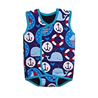 BabaTastic Whales, Anchors and Boats Baby Wetsuit Body Warmer (6-12 Months)