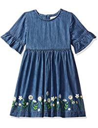 Next Girls Blue Denim Dress Aged 4years Selected Material Kids' Clothing, Shoes & Accs