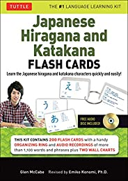 Japanese Hiragana and Katakana Flash Cards Kit: Learn the Two Japanese Alphabets Quickly & Easily with thi