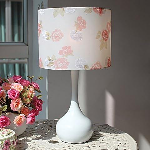 Moderno y minimalista para boda creativas dormitorio estudio lámpara de noche cálida decoración bombillas regulables , flor de junco de tóner , el interruptor